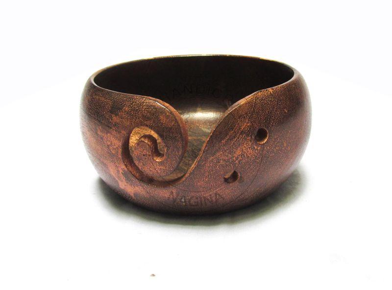 HHC288 Wooden Yarn Bowl