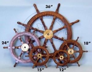 HHC80 Nautical Ship Wheel