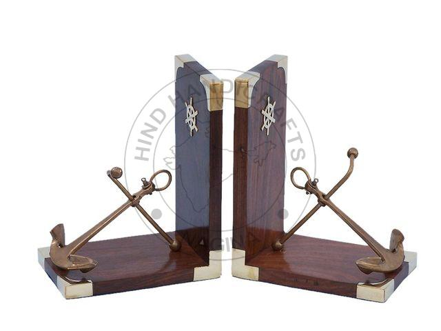 HHWC-NDC-127 Wooden Bookend