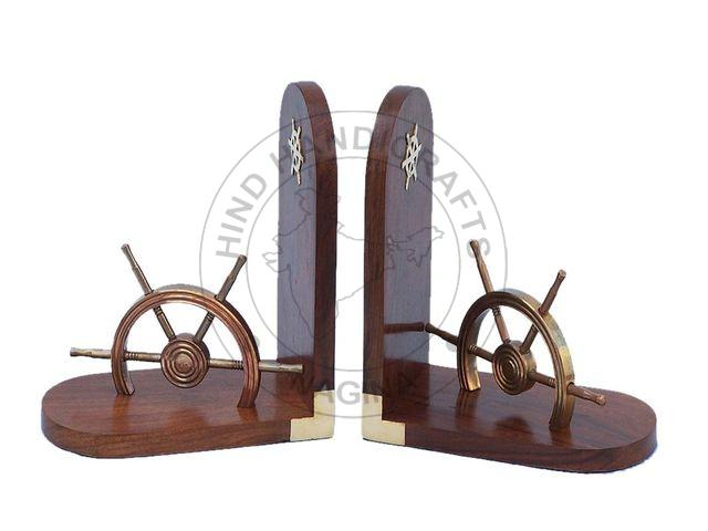 HHWC-NDC-128 Wooden Bookend