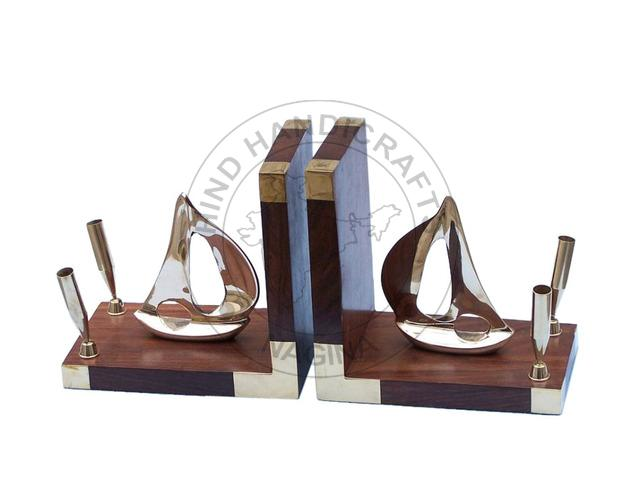 HHWC-NDC-92 Wooden Bookend