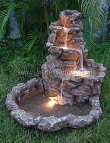 Garden Fountain 03