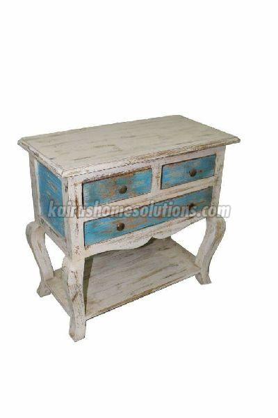 Wooden Console 03