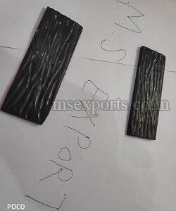 Black Jigged Bone Scale