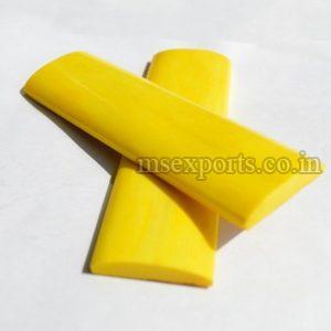 Dyed Smooth Bone Yellow Handles