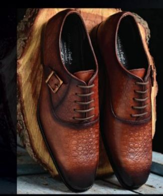 RF4101 Mens Cow Crust Leather Formal Shoes