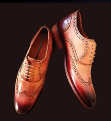 RF9166 Mens Cow Crust Leather Formal Shoes
