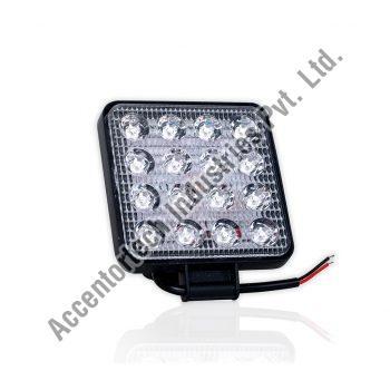 Square Auxiliary Lamp (16 LED)