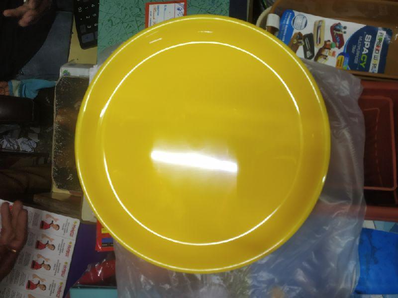 Plain Plate And Bowl Set