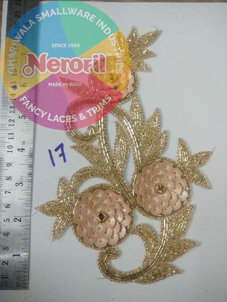 Handmade Zari Patch 02