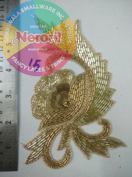 Handmade Zari Patch 07