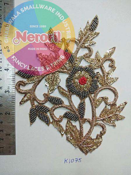 Handmade Zari Patch 11