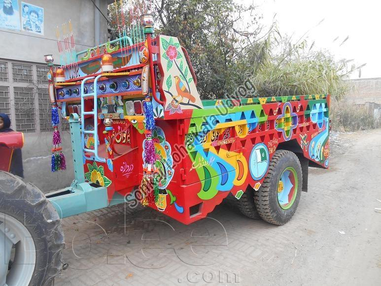 Tractor Trolley 08
