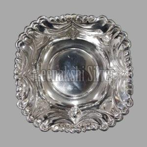 Silver Dish Plate 03