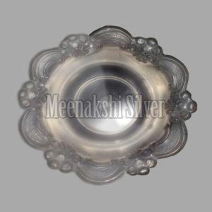 Silver Dish Plate 09