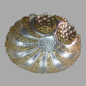 Silver Dish Plate 15