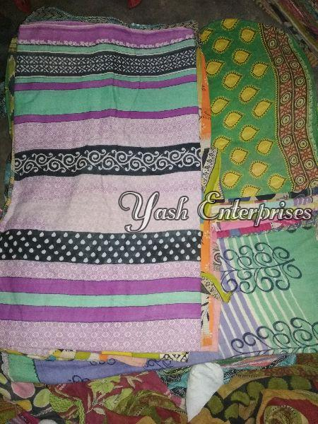 Multicolor Old Cotton Dhoti 03