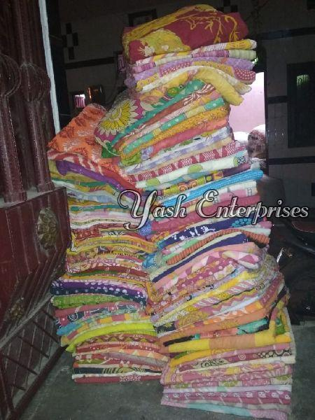 Multicolor Old Cotton Dhoti 06