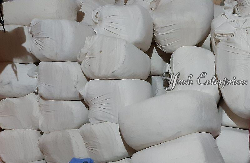 White Old Cotton Dhoti 02