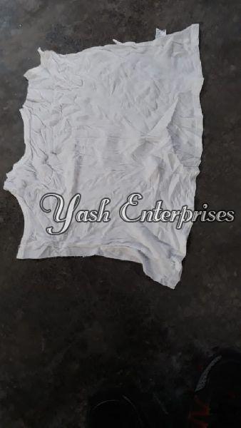 White Old Cotton Dhoti 03