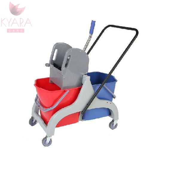 Double Bucket Wringer Trolley 03