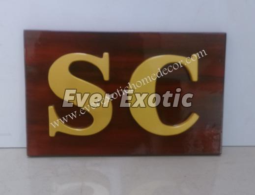Designer Name Plate 02
