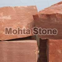Red Block Stone