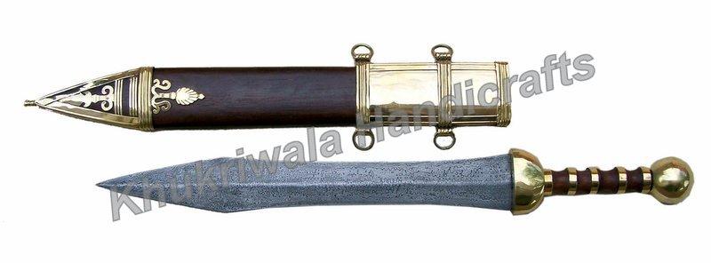 DS33 Damascus Steel Blade