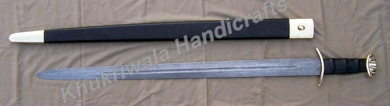DS38 Damascus Viking Sword
