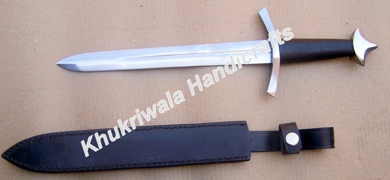 HK38 Medieval Dagger With Scabbard