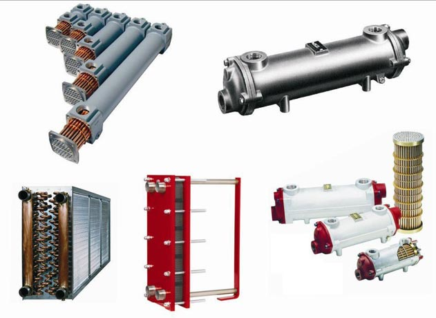 Industrial Heat Exchangers : Industrial heat exchanger shell and tube exchangers