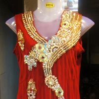 Designer Floor Touch Anarkali Suits