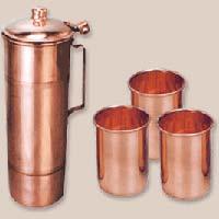 Copper Jug Set