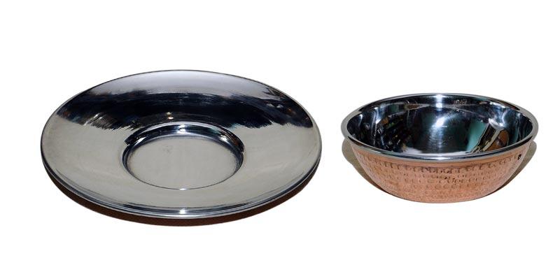 Copper Steel Finger Bowl