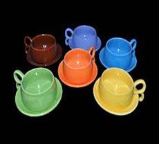 Ceramic Cup Saucers