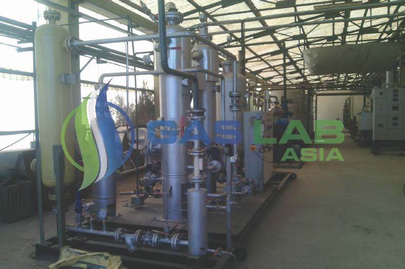 CO2 Recovery Plant For Mines