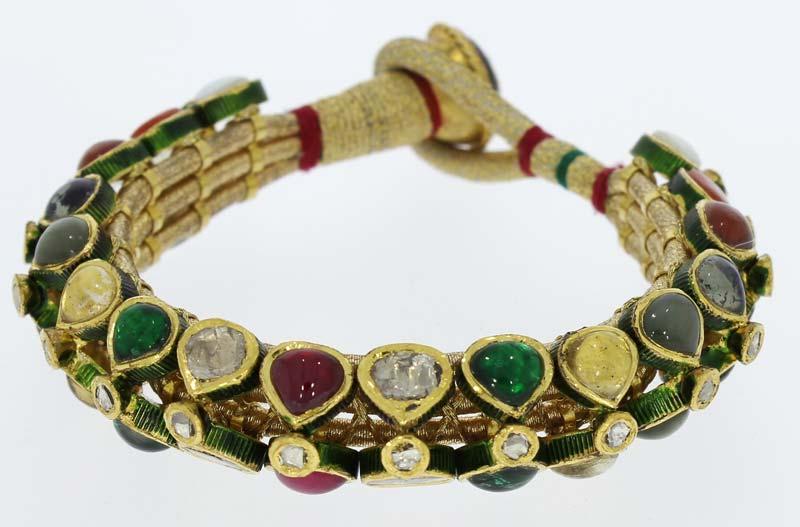 Kundan Polki Bracelets