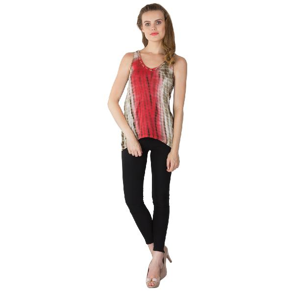 Knitted Cotton Sleeveless Tops