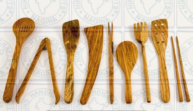 HHC167 Wooden Cutlery Set