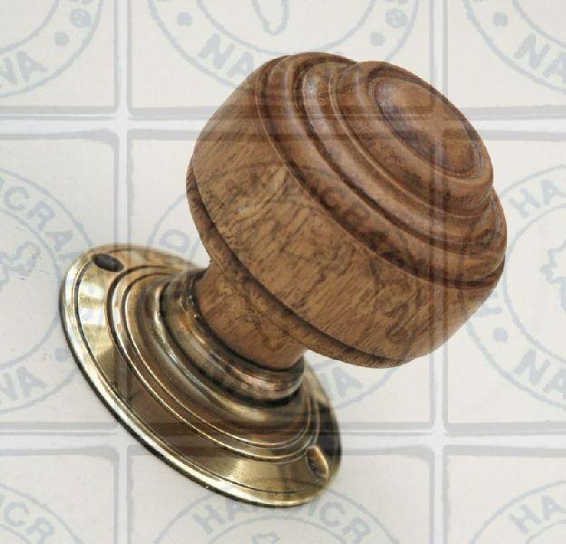 HHC185 Wooden Door Knob