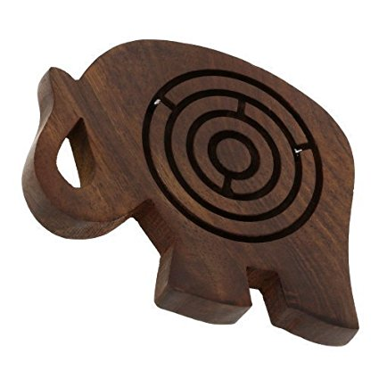 HHC191 Wooden Labyrinth Game
