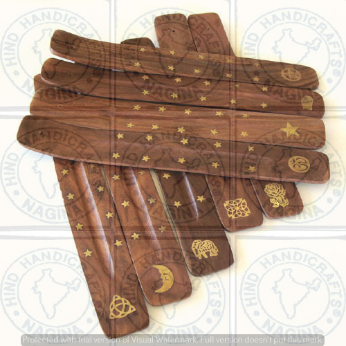 HHC213 Wooden Incense Stick Holder