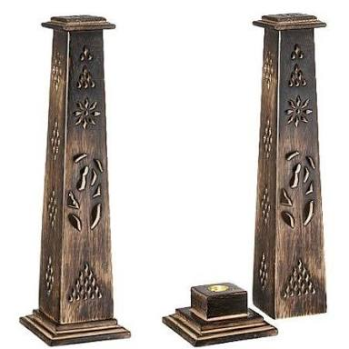 HHC216 Wooden Incense Stick Tower
