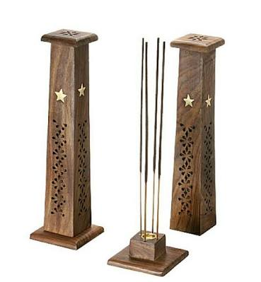 HHC217 Wooden Incense Stick Tower