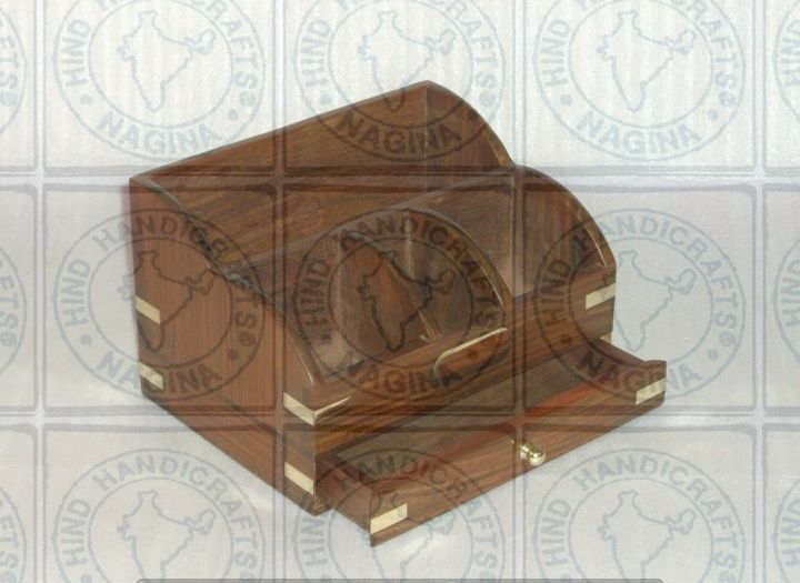 HHC234 Wooden Office Desk Organizer