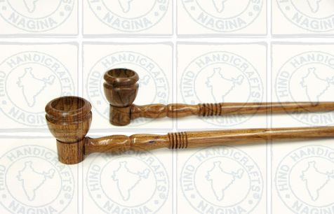 HHC278 Wooden Smoking Pipe