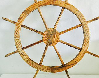 HHC78 Nautical Ship Wheel