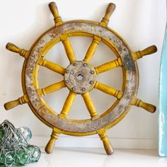 HHC79 Nautical Ship Wheel