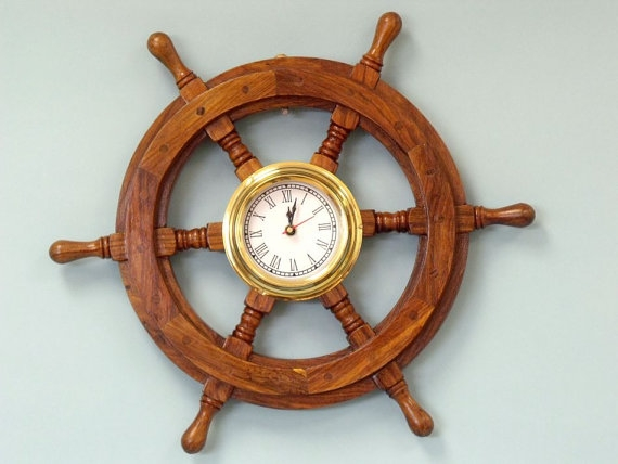 HHC84 Nautical Ship Wheel