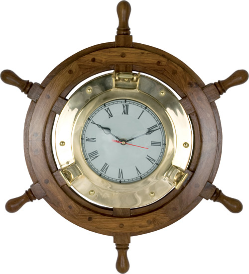 HHC89 Nautical Wall Clock